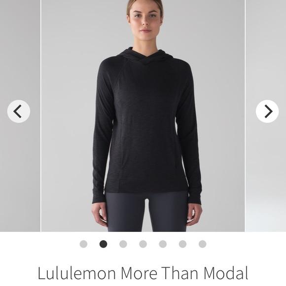 ❌sold❌ Lululemon More than Modal hoodie